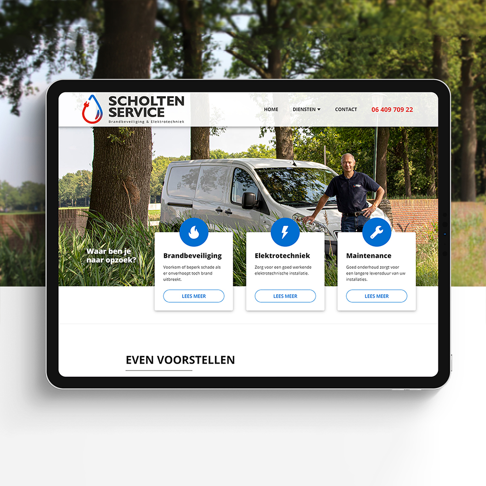 Scholten Service | Website